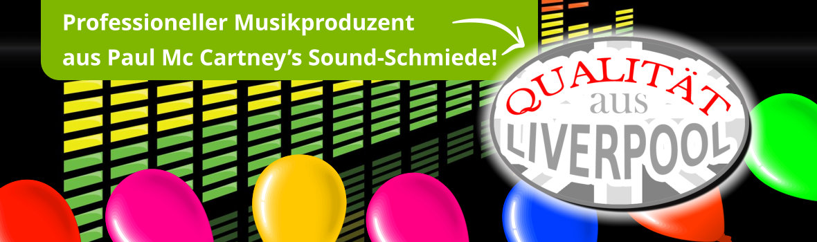Professioneller Musikproduzent aus Paul McCartney's Sound-Schmiede